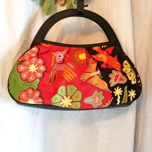 PINEDA COVALIN DESIGNER HOBO SILK BAG.